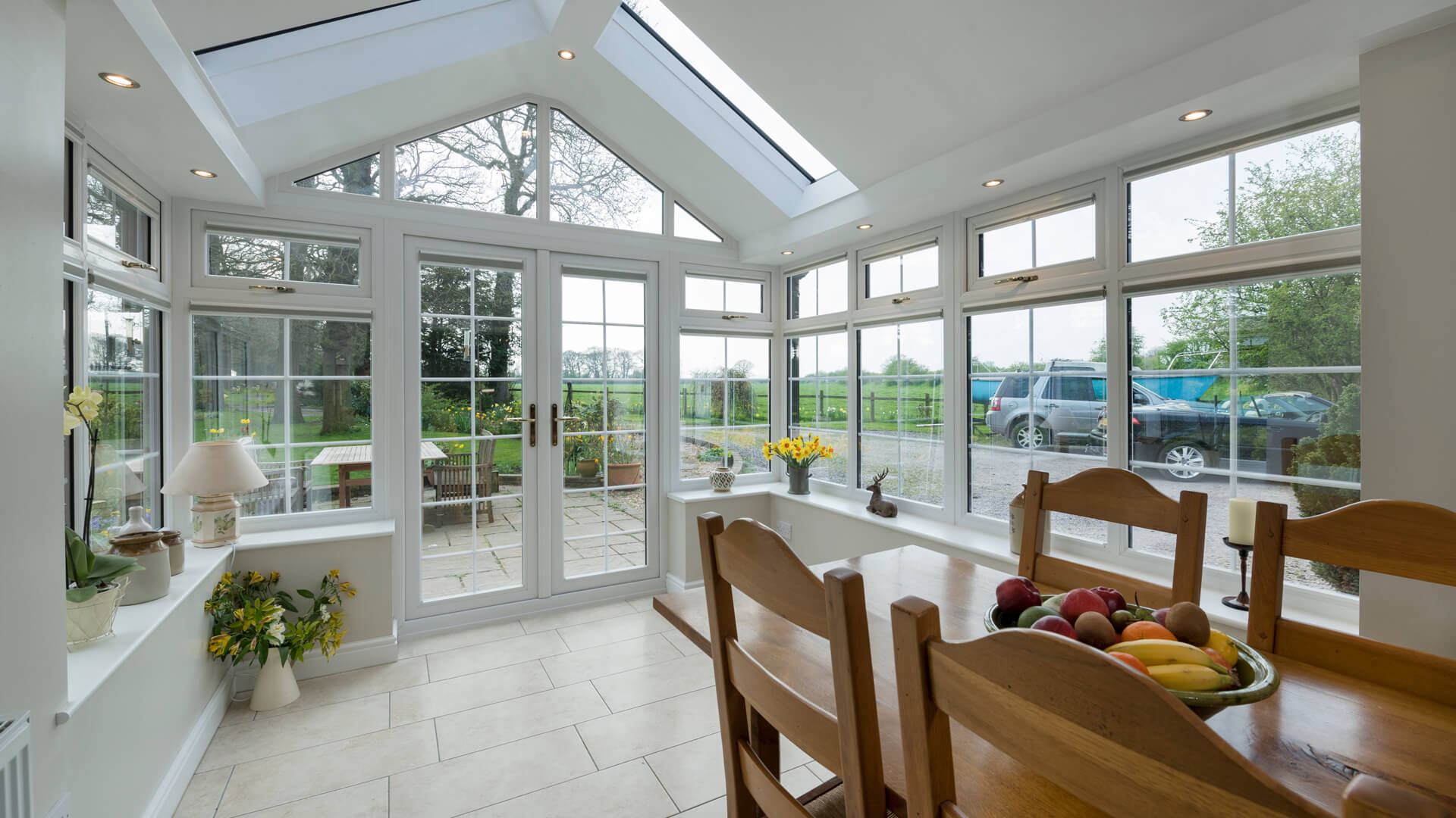 Tiled Roof Conservatory Extension