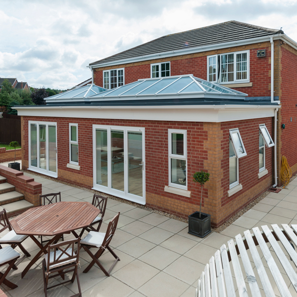 Traditional Orangery Living Space